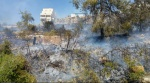 أبو غوش: إخلاء منازل مأهولة بسبب حريق