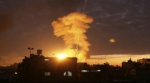 الجيش الإسرائيلي يقصف موقعا لكتائب القسام شمال قطاع غزة