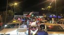 مواجهات في مدينة يافا بين الشرطة والمتظاهرين