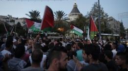 العنف ضد المتظاهرين في الناصرة خرق لجميع القوانين