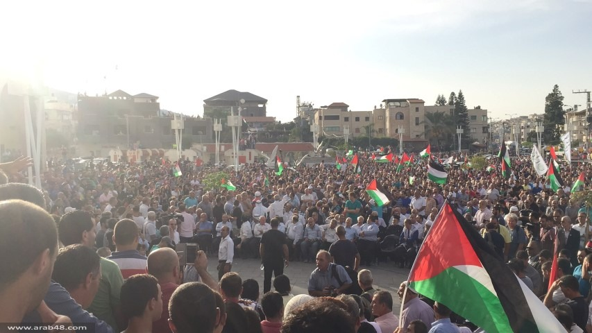 الداخل الفلسطيني يطلق صرخة الغضب نصرة للقدس والمقدسات