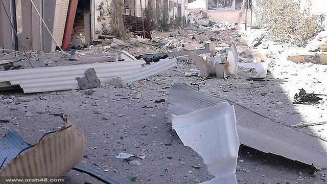 تقارير سورية: إسرائيل قصفت مواقع في دمشق