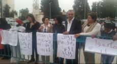 الرملة: تظاهرة غاضبة تدعو لمناهضة جرائم قتل النساء
