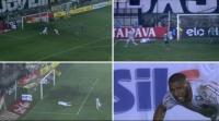 فيديو: لاعب ينفرد بالمرمى ويهدر هدفاً في مباراة مثيرة