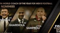 إنريكي وغوارديولا وسامباولي: من هو أفضل مدرب في العالم؟