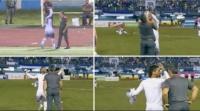 فيديو: لاعب يعتدي على مدربه بعد خسارة فريقهما