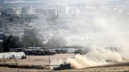 تركيا تقصف مواقع لجيش النظام والأكراد في سورية