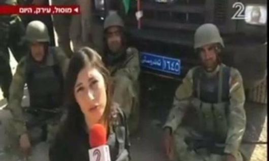 ما الذي تفعله القنوات الإسرائيلية في الموصل؟