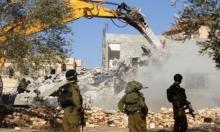 سلوان: الاحتلال يهدم منزلين وبركسا