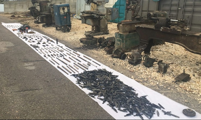 الخليل: الاحتلال يضبط مصنعا لإنتاج الوسائل القتالية