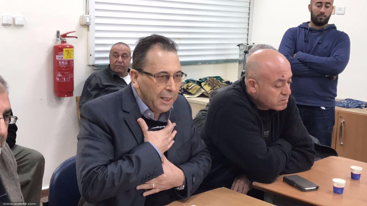 قلنسوة: اجتماع لجنة مناهضة الهدم وتشكيل لجنة إغاثة