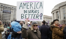 اعتقال 95 محتجًا على تنصيب ترامب بواشنطن