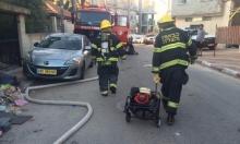 عسفيا: إصابة شخص إثر حريق في منزل