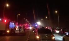 النقب: إصابة 7 أشخاص في حادث طرق