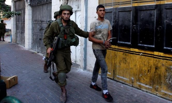 الاحتلال يعتقل 21 شابا فلسطينيا في الضفة المحتلة