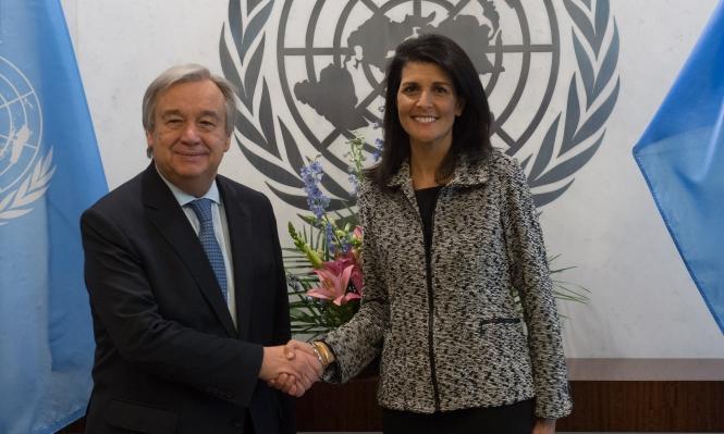 مندوبة أميركا بالأمم المتحدة: نؤيد حل الدولتين ونفكر ببدائل