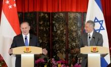 نتنياهو يتجاهل دعوات سنغافورة لإطلاق مفاوضات مع الفلسطينيين