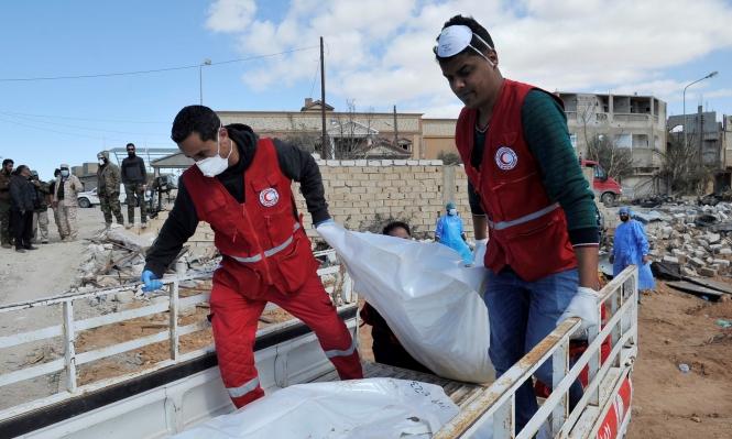 ليبيا - العثورعلى جثث  لمهاجرين في حاوية شحن