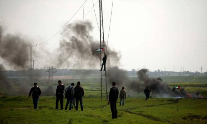 ثلاثة إصابات برصاص الاحتلال بغزة إحداها خطيرة