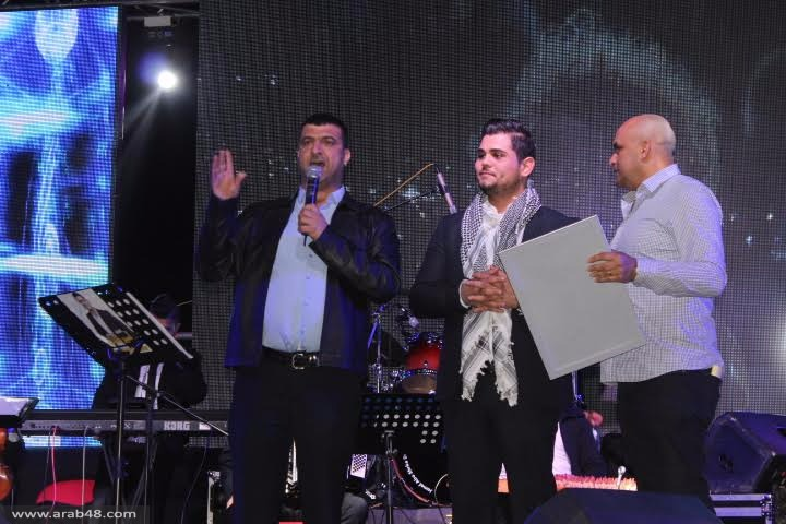مجد الكروم: استقبال احتفالي للفنان أمير دندن
