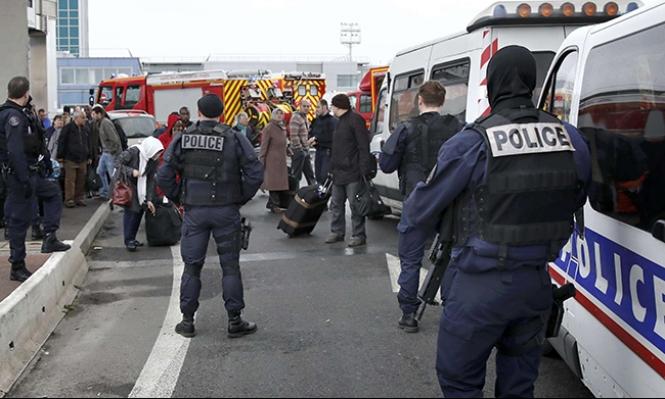 مقتل شرطي فرنسي في نقطة مرور قبل واقعة مطار
