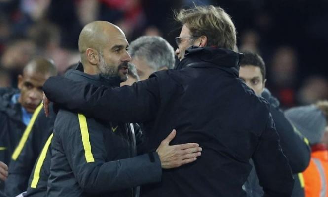 ليفربول ومانشستر سيتي يتعادلان 1 / 1 في القمة الإنجليزية . فيديو وصور