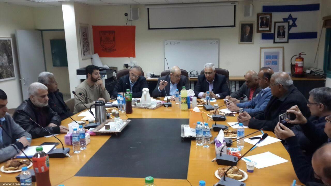 ذكرى يوم الأرض: اجتماع تحضيري في ديرحنا