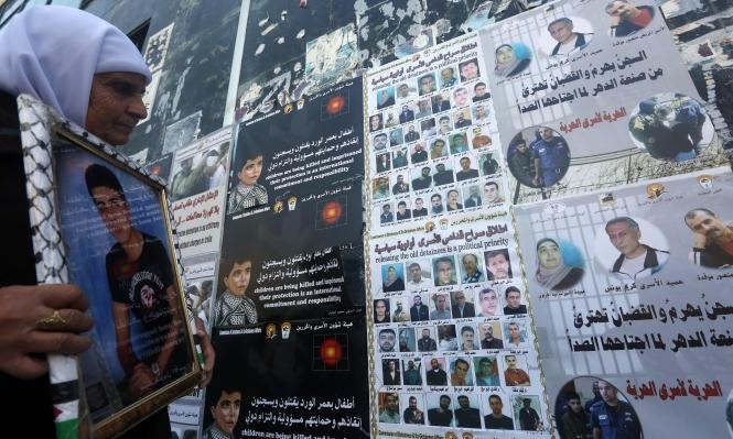 500 أسير فلسطيني يقضون أحكاما بالمؤبد