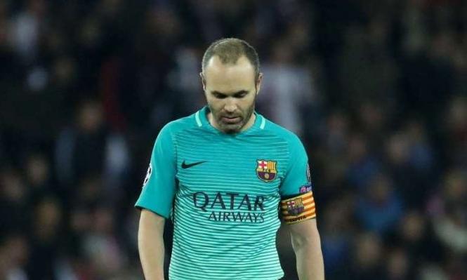 برشلونة يبحث عن بديل لإنييستا