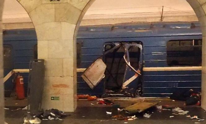 10 قتلى و50 جريحا جراء انفجار بمترو سان بطرسبورغ الروسية
