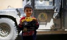 """دمى الأطفال تعود إلى شرق الموصل بعد طرد """"داعش"""""""