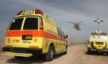 إصابة خطيرة لشاب بحادث عمل في طوبا الزنغرية