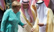 ميركل تبحث بالسعودية تطورات الأحداث الإقليمية