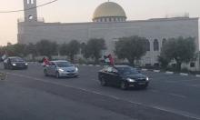 مسيرة سيارات في كوكب دعما لإضراب الأسرى