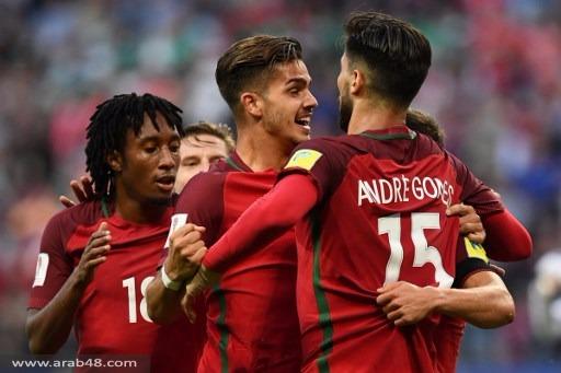 كأس القارات: البرتغال تقع بفخ التعادل أمام المكسيك