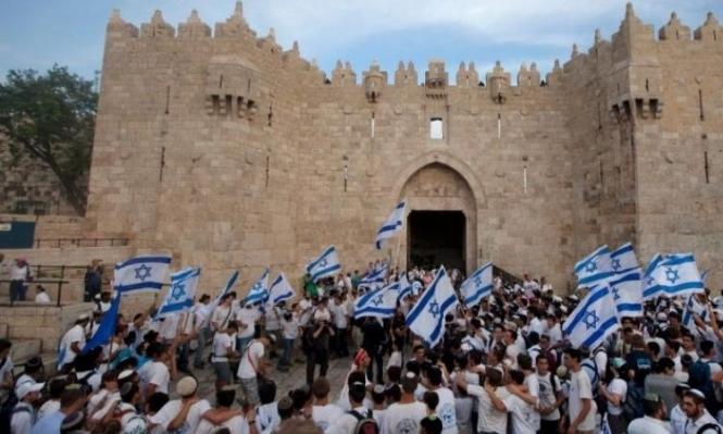 استبدال اسم شارع السلطان سليمان بباب العامود بمجندة إسرائيلية