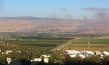 سقوط قذائف من سورية شمال الجولان المحتل