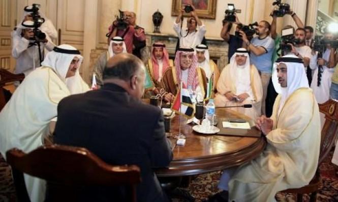 اتصال ترمب بالسيسي حسم الموقف بعد جدال بين دول حصار قطر