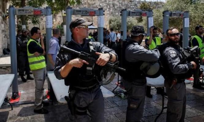 نتنياهو يعارض الشرطة: لن تزال البوابات الإلكترونية