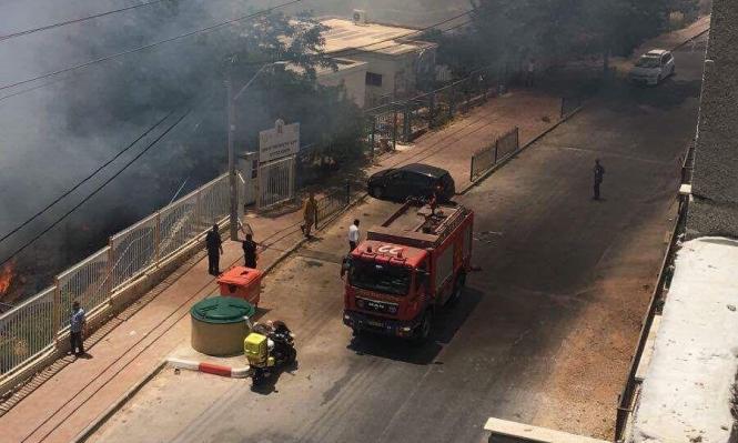 إكسال: مطالبة السكان البقاء في منازلهم بسبب حريق