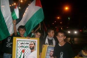 في مسيرة هبة القدس والأقصى:  كفر مندا تؤكد رسالة الشهداء