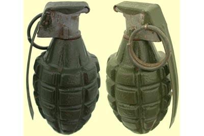 إلقاء قنبلة يدوية على منزل في عرابة البطوف