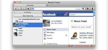 """برمجية بأسم """"Firesheep"""" تمكن من التسلل الى صفحة فيسبوك الاخرين"""
