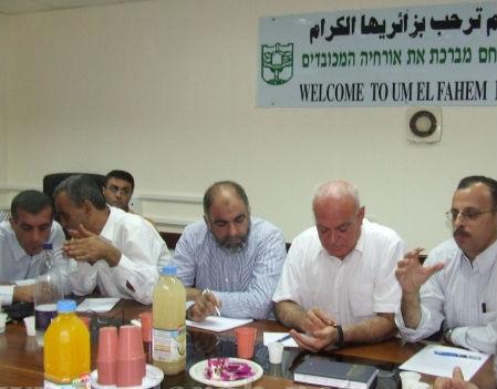 لجنة المتابعة تعلن الإضراب الخميس في أم الفحم