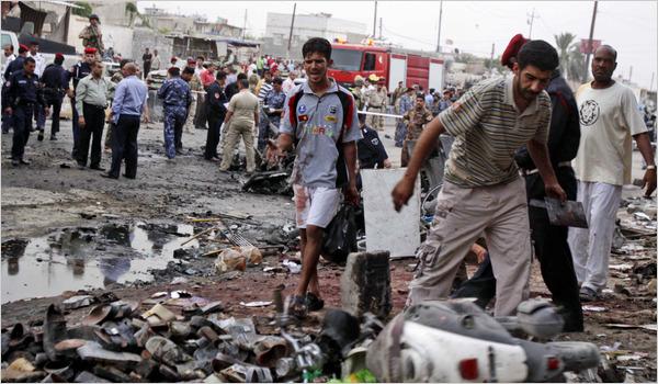 مقتل عشرة أشخاص وإصابة 30 في البصرة