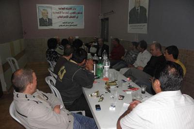 بيت جن: اجتماع لتوحيد القوى في مقر الهيئة العليا لمحاربة التجنيد الإجباري والطوعي
