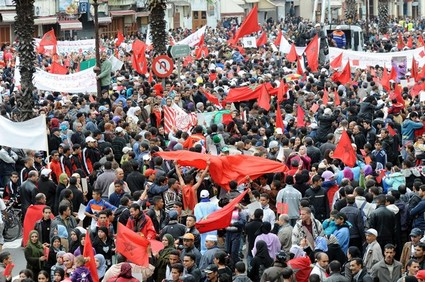 مظاهرات في الدّار البيضاء تندّد بدعوة البرلمان الأوروبي فتح تحقيق دولي حول أحداث العيون
