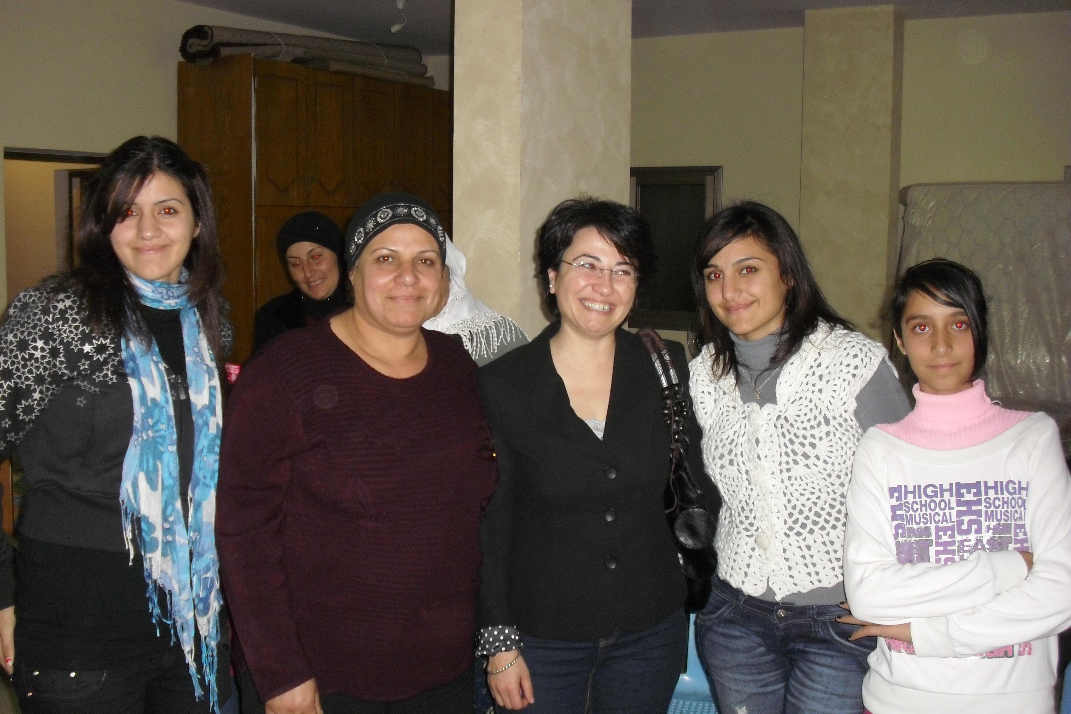 ندوة سياسية للنائبة زعبي في دير حنا