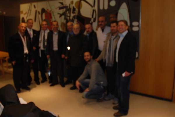 """الجالية الفلسطينية في فنلندة تستضيف أمين عام حزب التجمع حول """"يهودية الدولة"""""""