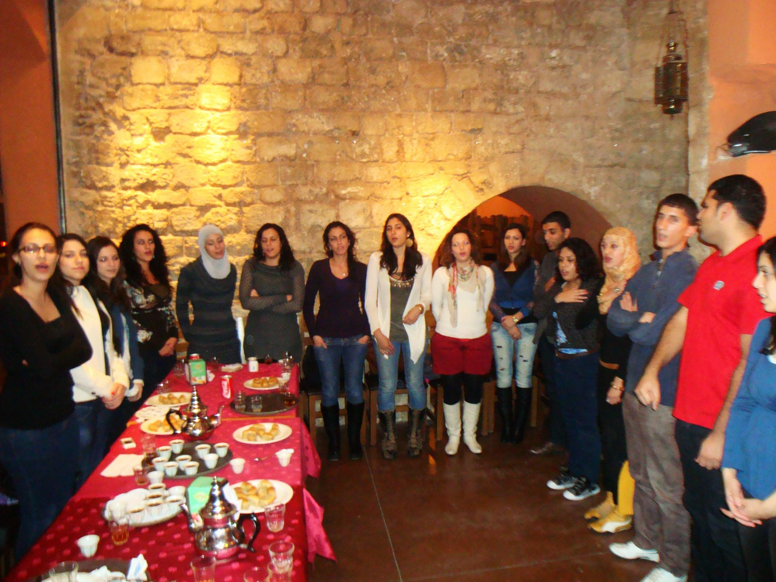 جفرا تحيي ذكرى الحرب على غزّة ببرنامج مكثّف في جامعة تل أبيب